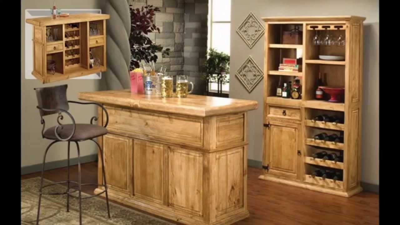 Creative small home bar ideas youtube for How to build a mini bar cabinet