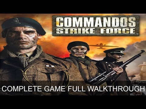 Commandos Strike Force Complete Game All Missions Full Game Walkthrough Longplay Ending