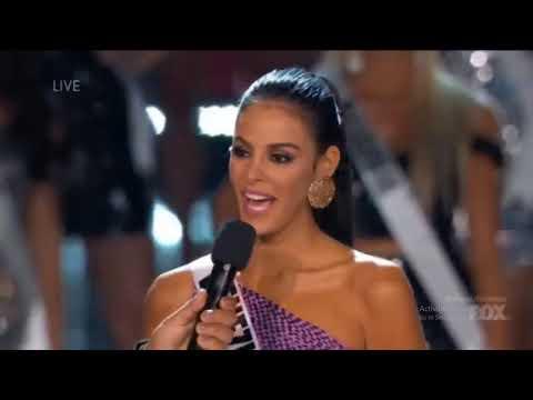 Miss Universe 2017- Top 16 Finalist