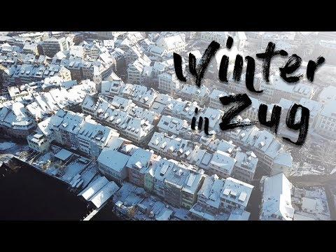 Winter in Zug, Switzerland, 2017