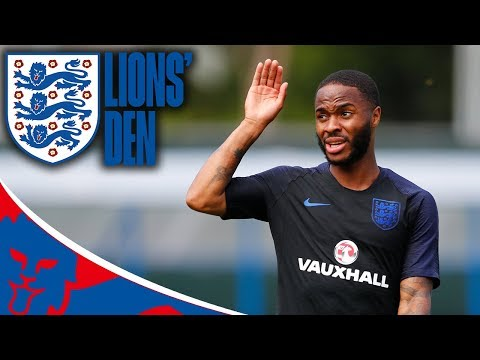 LIVE Training Ahead of England's Opener! | Lions' Den Episode Six | World Cup 2018