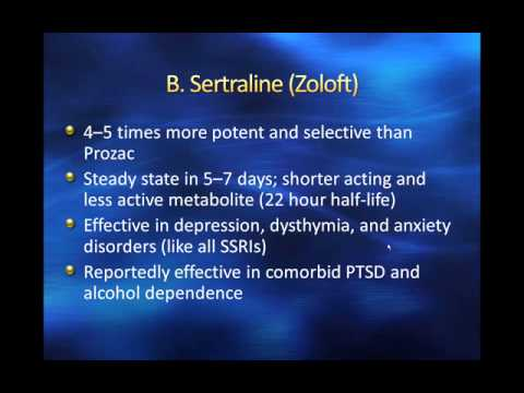 SSRIs And New Antidepressants