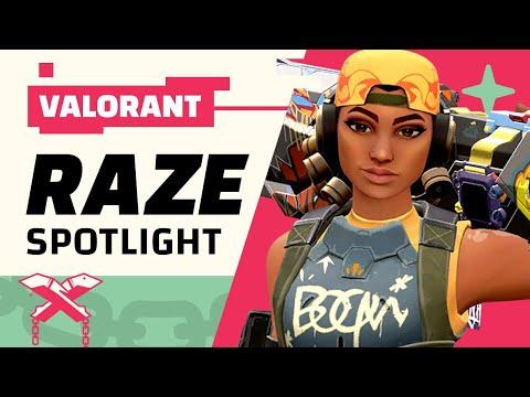 RAZE Tips And Tricks | Raze Spotlight And Valorant Guide