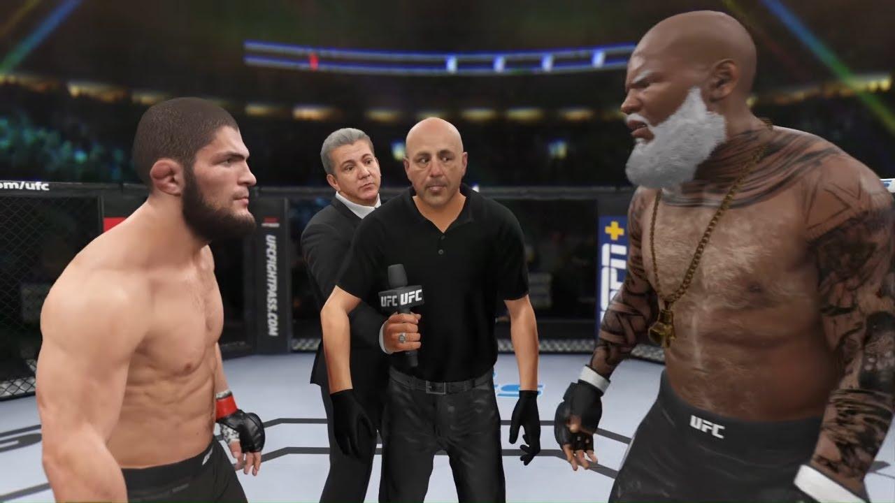 UFC 4 - Khabib vs. Old Requis - Crazy UFC 👊🤪