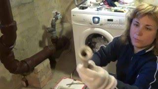 Подключение стиральной машины к водопроводу, канализации и электрике.(Данное видео о подключении стиральной машины к водопроводу, канализации и электрике своими руками (пайка..., 2016-03-24T18:33:50.000Z)