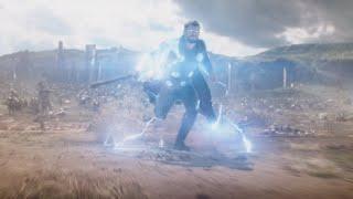 Появление Тора. Мстители: Война бесконечности 2018