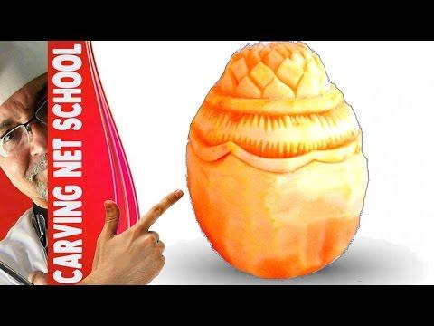 Lesson 4, carving, การแกะสลักผลไม้, 水果雕刻, Ukiran buah, 果物のカービング, Khắc trái cây, naik ukiran, 조각 장미