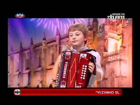 David Costa o talento da concertina  Portugal Tem Talento