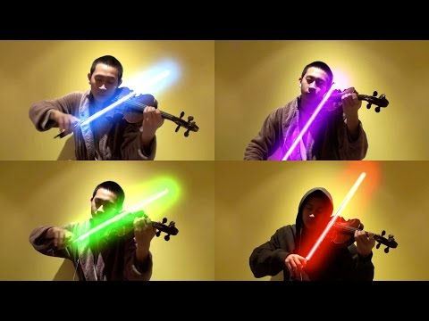 Star Wars - The Force Theme (Violin Cover) - Jeffrey Ding He
