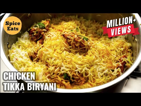 CHICKEN TIKKA BIRYANI RESTAURANT STYLE | CHICKEN TIKKA BIRYANI RECIPE