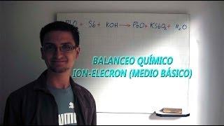 Balanceo químico por Ion-Electron en medio básico