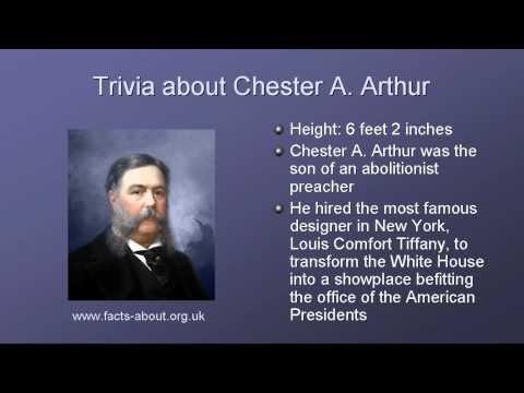 President Chester Arthur Biography