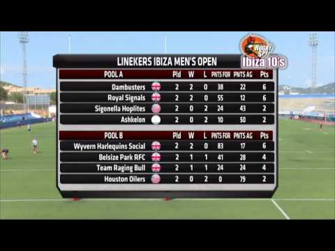 RugbySpy Ibiza 10's 2016 - Saturday Stadium Live