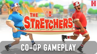 The Stretchers Gameplay First 1 Hour - Nintendo Switch (CO-OP)