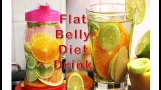 सिर्फ 3 दिन में पाएं FLAT BELLY | FLAT BELLY Magical Detox Water in just 3 days | Weight loss Drink