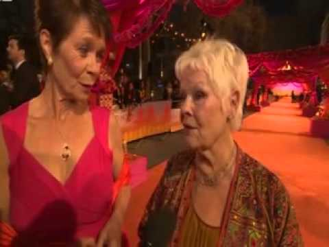 Still Exotic  Dench and Imrie on Second Marigold Hotel film