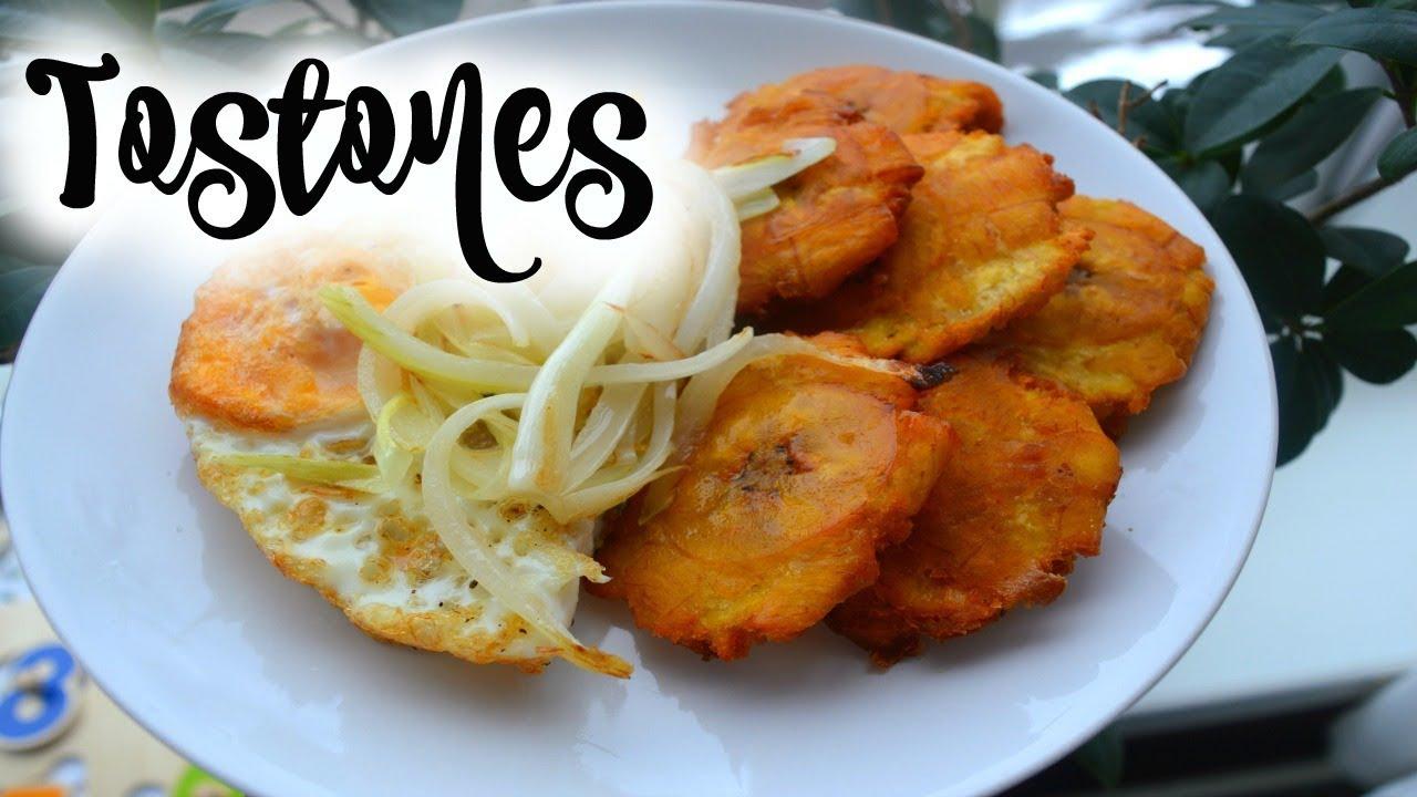 Recipe How To Make Fried Green Plantain Tostones Platano Frito