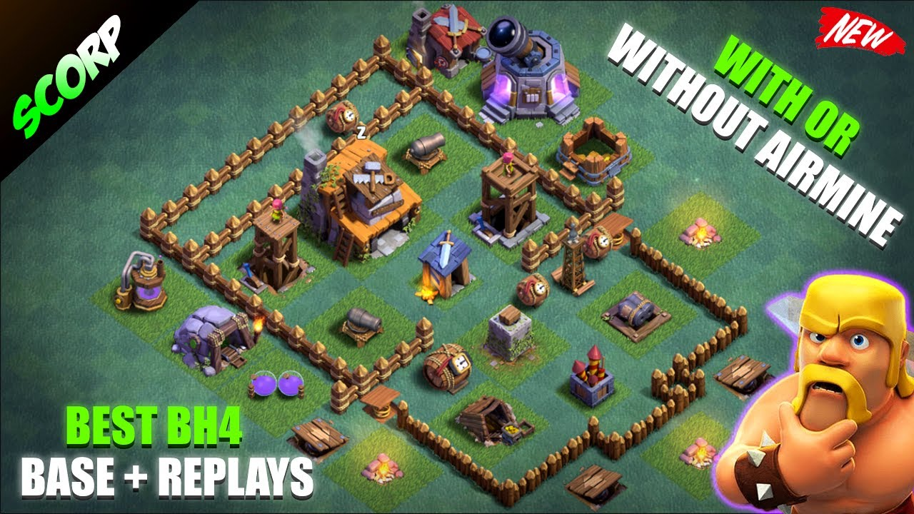 Stream Clash Of Clans Best Builder Hall 4 Base Anti 1