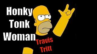 honky tonk woman Travis Tritt
