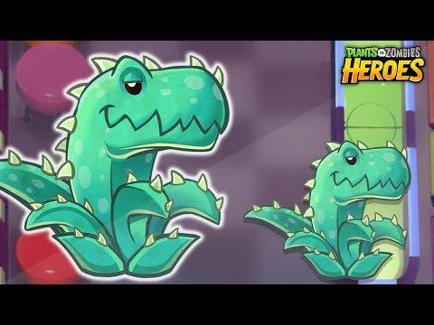 El grandioso Aloesaurio - Plants vs Zombies Heroes