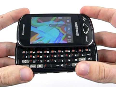 Samsung B3410 - design a konstrukce