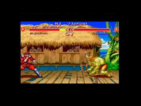Street Fighter Collection (Sega Saturn Game Play) PAL Part 1