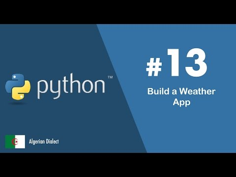 #13 Build a weather app (Algerian Dialect)
