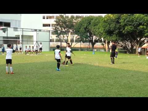 Free kick Goal scored  Team Captain Gerald Gan 3rd place final score 10