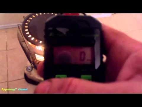 Diesel in Kerosene Heater, Testing Carbon Monoxide (CO)