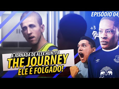 FIFA 17 THE JOURNEY - ESSE HARRY KANE É FOLGADO!! INJUSTIÇA!?  Episódio #4