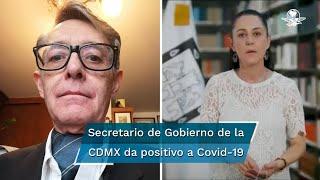 La mandataria local, Claudia Sheinbaum, informó que el pasado domingo estuvo con José Alfonso Suárez del Real, por lo que de acuerdo con el protocolo se quedará en casa los próximos días