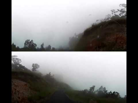 Kodak PixPro sp360 - Polipoli Spring, Maui, Hawaii Descent on Motorcycle - Front/Back View