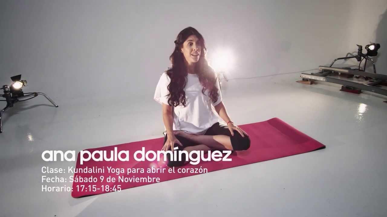 Ana Paula Domínguez en el 10º Encuentro Nacional de Yoga adidas ... acac5ddb5a69