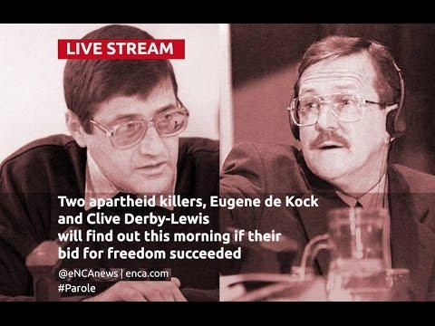 LIVE: Parole for apartheid killers?