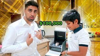 A 13 YEAR OLD GAVE ME A $100,000 BIRTHDAY GIFT !!!