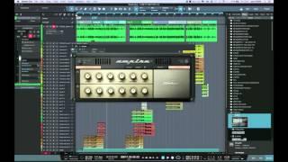 Adding Distortion To Vocals Using Ampire In Studio One