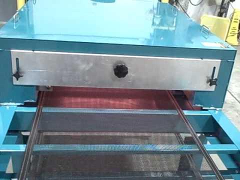 Overview Of Workhorse Powerhouse Quartz 2608 Conveyor Dryer Youtube
