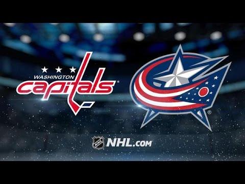 Washington Capitals vs Columbus Blue Jackets NHL Game Recap - YouTube c74006fc1136