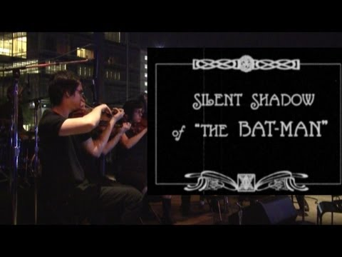 Silent Shadow of The Bat-Man with Two Star Symphony at Discovery Green (Houston, TX 10/19/2012)