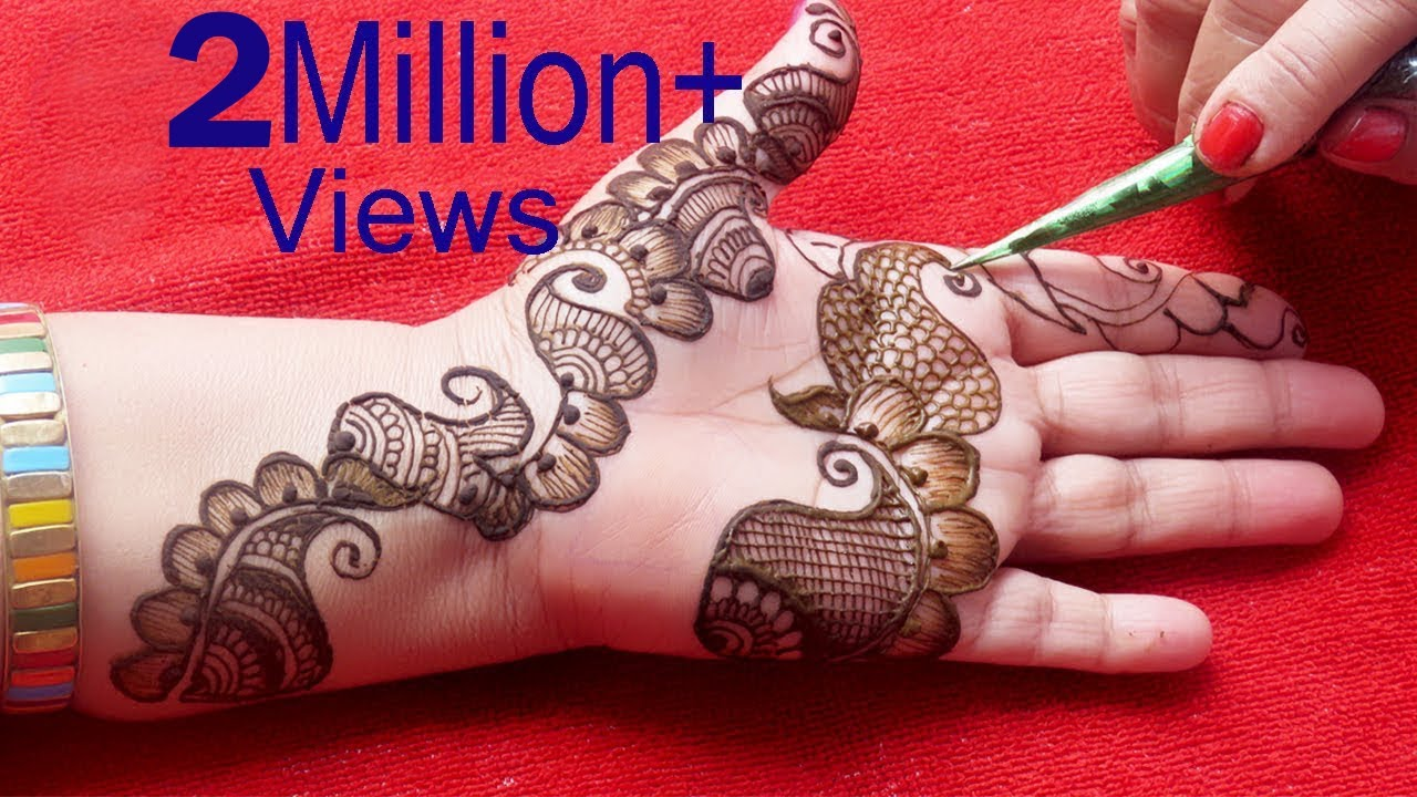 Mehndi Henna Designs S : Latest mehndi henna designs simple arabic tattoo by