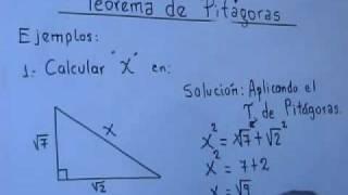 teorema de pitagoras 5º 6º de primaria y 1º de secundaria