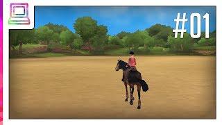 Petz Saddle Club (part 1) (PSP) (Horse Game)