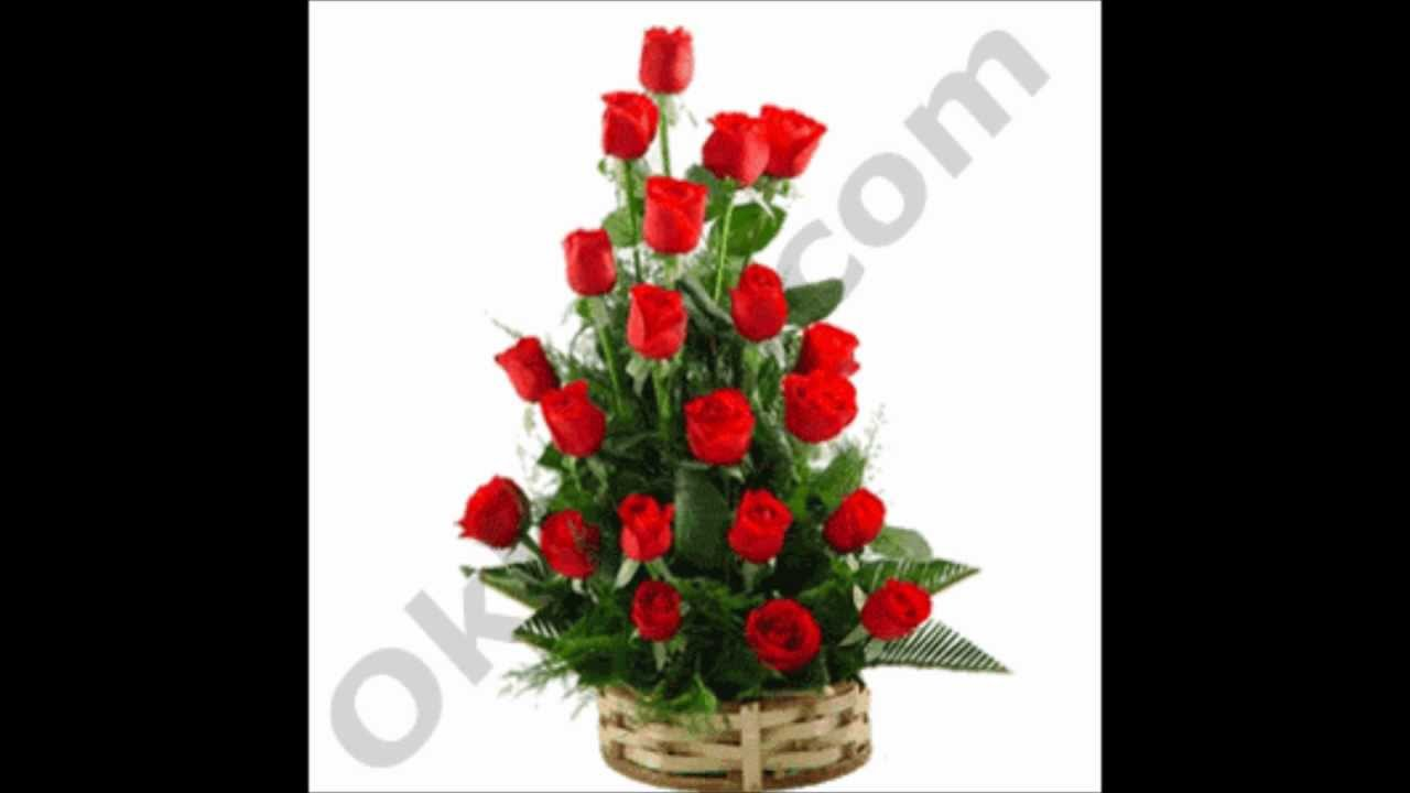 Romantic Red Beauty Flowers Birthday Wedding Gifts To India Youtube