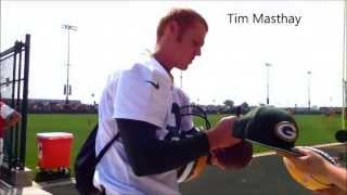 Green Bay Packers Signing Autographs At 2013 Training Camp