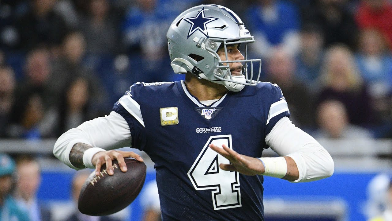 Dak Prescott 'couldn't be happier' to play on tag with Cowboys
