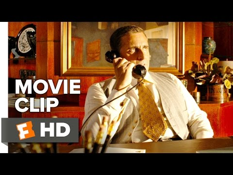 Café Society Movie CLIP - Phil Takes a Phone Call (2016) - Steve Carell Movie