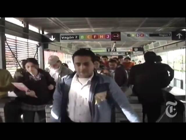 Выделенные полосы для транспорта в Колумбии