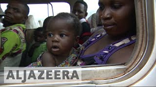 Thousands flee violence in Central Africa