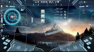 Tema Futuristico Para Windows 7 y Windows 8.1 Tutorial