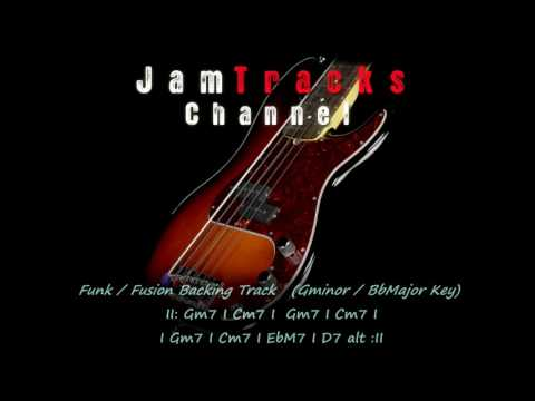 Funk / Fusion Bass Backing Track - JamTracksChannel -